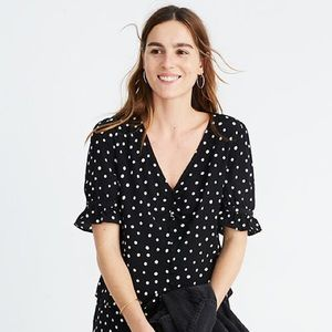 Madewell Daylight Top in Painted Dots